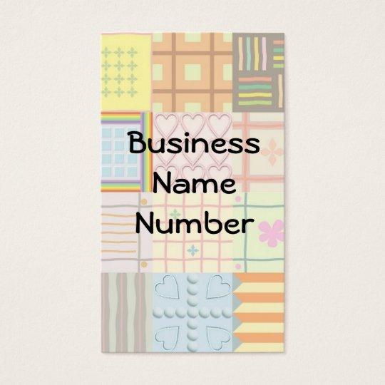 Quilt Business Card