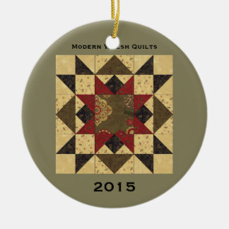 Quilt Christmas Star Ornament