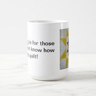 Quilt Don't Cook Mug