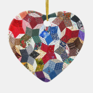 Quilt Fabric Christmas Ornament