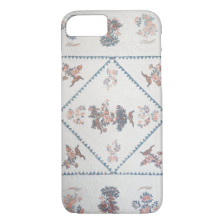 Quilt in 'Broderie Perse', c.1800 (applied, printe iPhone 8/7 Case
