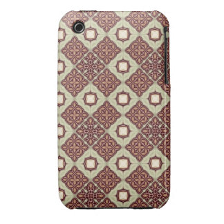 Quilt Inspired Digital Art Abstract iPhone 3 Case-Mate Cases