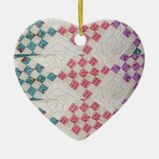Quilt Look Design Ornament
