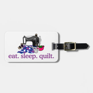 Quilt (Machine) Luggage Tag