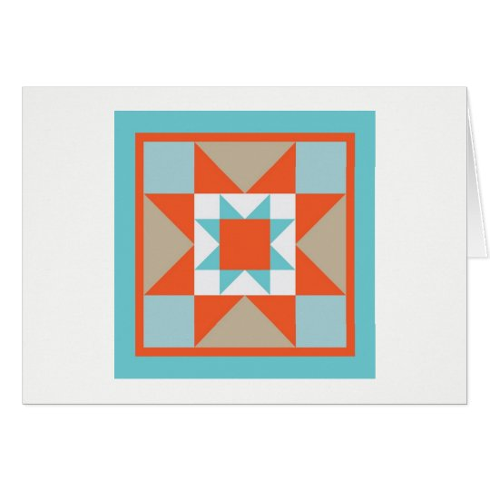 Quilt Note Card - Martha Washington