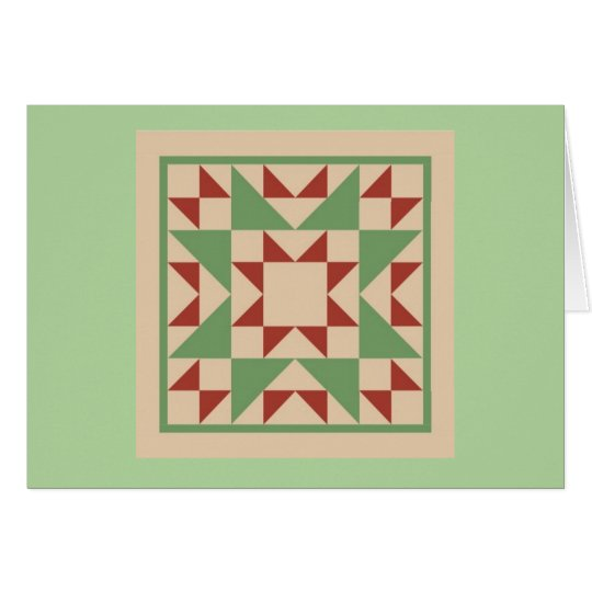 Quilt Note Cards - Odd Fellows Block