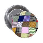 Quilt Pattern Buttons