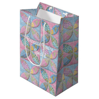Quilt Pattern Classic Melon Patch Medium Gift Bag