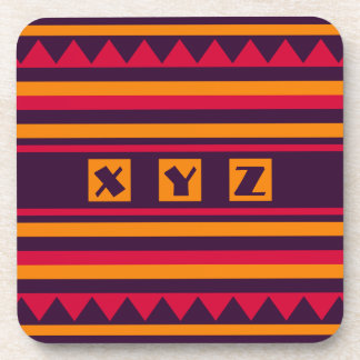 Quilt pattern coasters