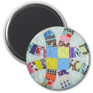 Quilt pattern magnet