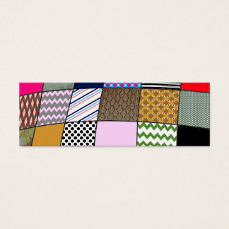 Quilt Pattern Mini Business Card