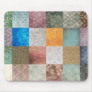 Quilt pattern mouse mat