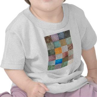 Quilt pattern tshirt