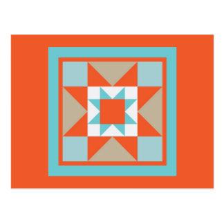 Quilt Postcard - Martha Washington Star