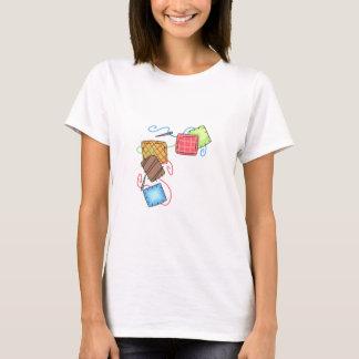 Quilt Squares Border T-Shirt