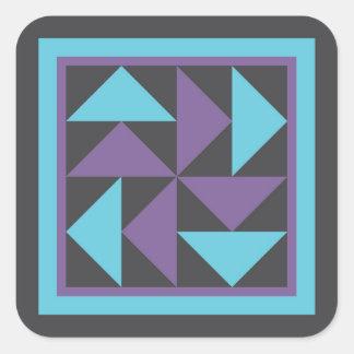 Quilt Stickers - Dutchman's Puzzle