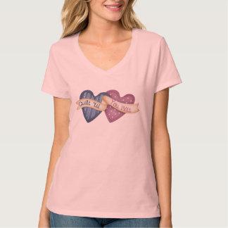 Quilt ´til you Wilt T-Shirt