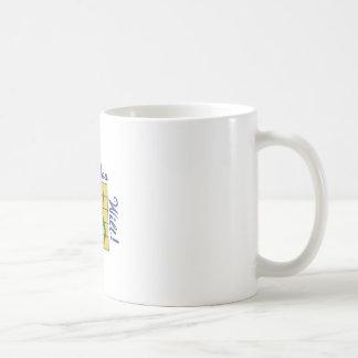 Quilt Till You Wilt Basic White Mug