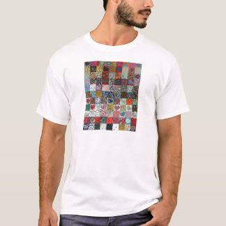 quilt with hearts T-Shirt