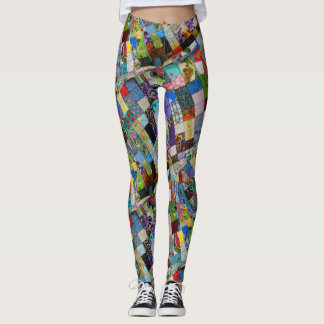 QUILTED-1-D LEGGINGS