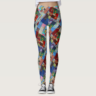 QUILTED-2-D LEGGINGS