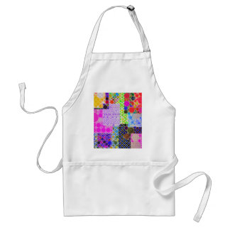 Quilted Abstract Pattern Standard Apron