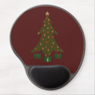 Quilted Christmas Gel Mousepad Gel Mouse Mat