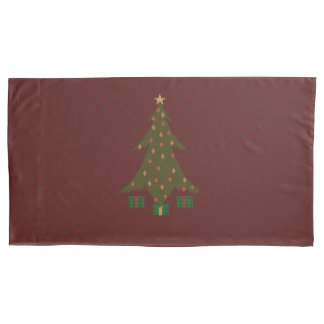 Quilted Christmas Pillowcase
