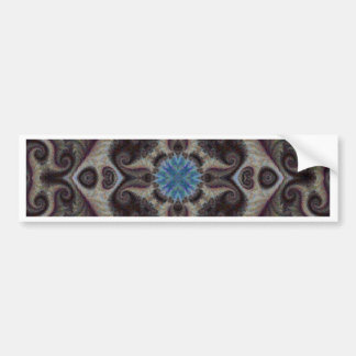 Quilted Mosaic Fractal 6 Bumper Sticker