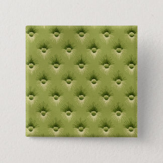 Quilted Olive Vintage Wallpaper 15 Cm Square Badge