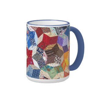 Quilted Stars Mugs