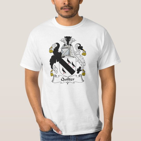 Quilter Family Crest T-Shirt