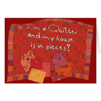 quilter II Greeting Card