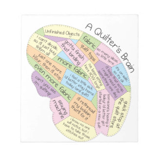 Quilter's Brain Notepad