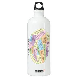 Quilter's Brain SIGG Traveller 1.0L Water Bottle