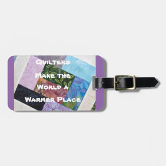Quilters Luggage Tag