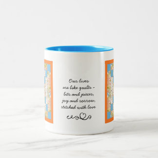 Quilter's Patchwork Quote Mug