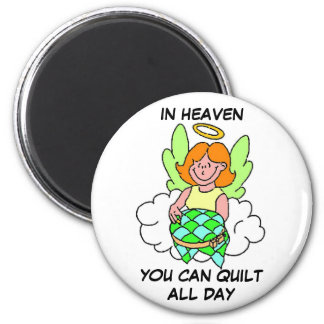 Quilting Angel Magnet