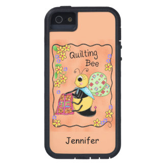 Quilting Bee Whimsy Honey Bee Yourself Art Case For The iPhone 5