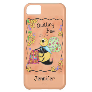 Quilting Bee Whimsy Honey Bee Yourself Art iPhone 5C Case
