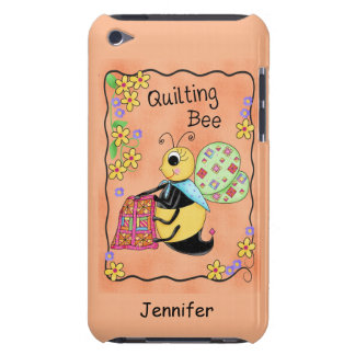 Quilting Bee Whimsy Honey Bee Yourself Art iPod Touch Cover