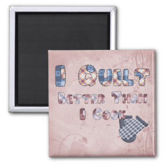 Quilting Cook Magnet