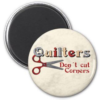 Quilting Corners 6 Cm Round Magnet