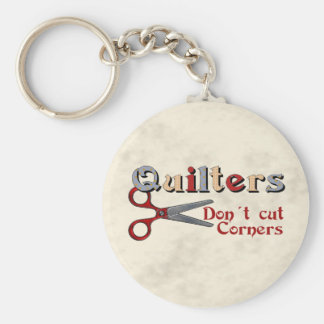 Quilting Corners Key Ring