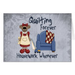 Quilting Forever Greeting Card
