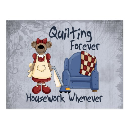 Quilting Forever Postcard
