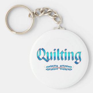 QUILTING KEY RING
