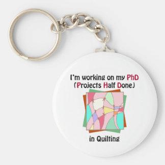Quilting PhD Key Chains