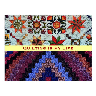 Quilting Postcard