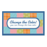 Quilting quilters fabric swatches crafts biz cards